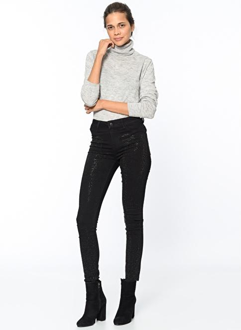 Vero Moda Pantolon | Seven - Super Slim Siyah